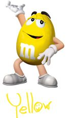 M&m clipart yellow M&M 51 best images Characters