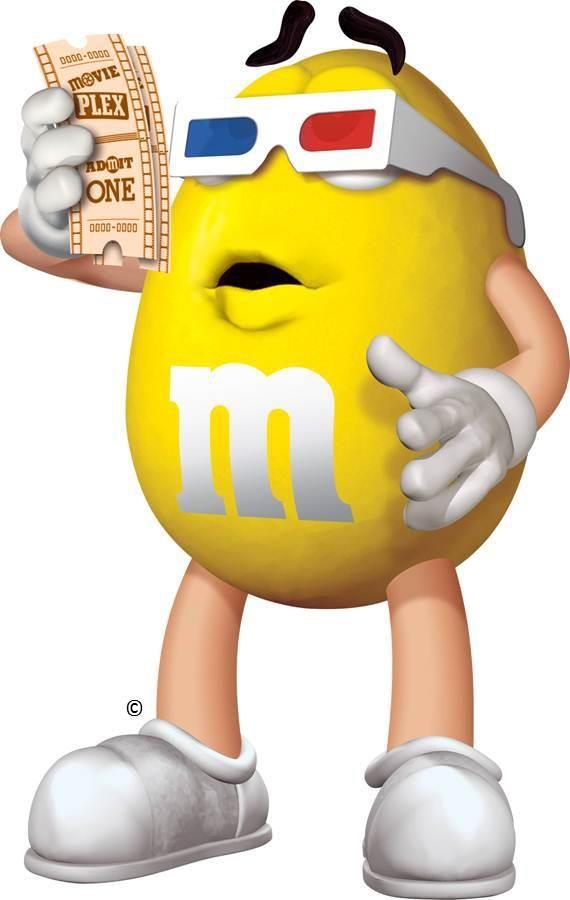 M&m clipart yellow Clip M's Pinterest 123 best