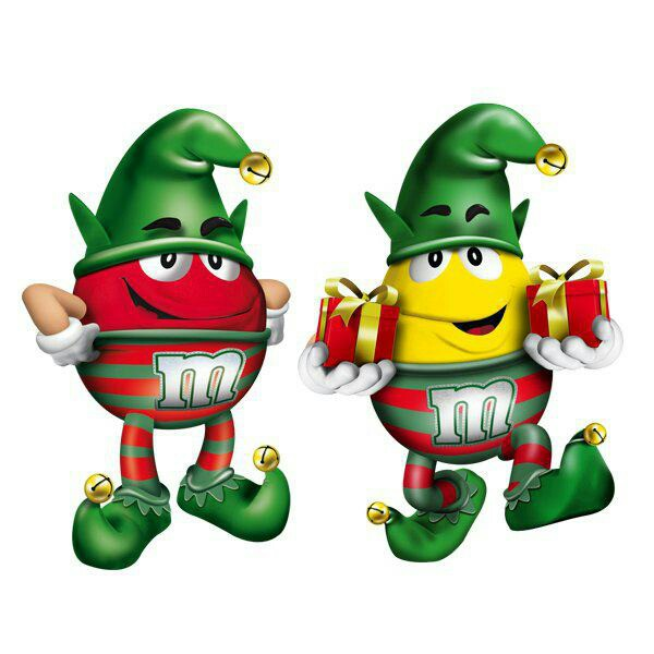M&m's clipart M&M's AND YELLOW CHRISTMAS chocolate…a