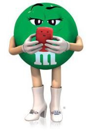 M&m's clipart M images about GREEN best
