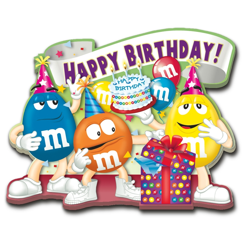M&m's clipart birthday Your One Wishes is Danbury