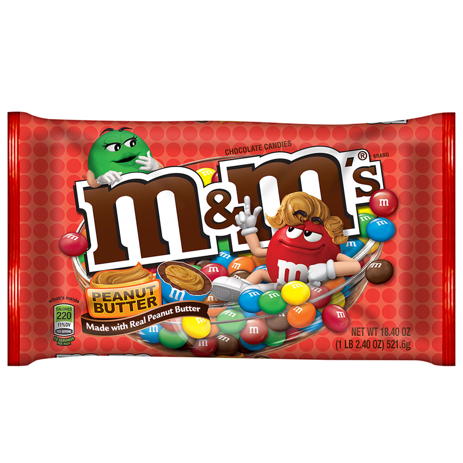 M&m's clipart peanut chocolate 18 4 oz Butter Candy
