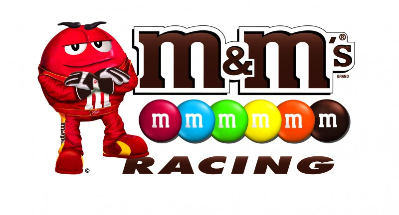 M&m's clipart racing Fans Makes Sweet Race and