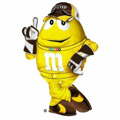 M&m's clipart racing Characters m&m M&M'S Pinterest Via