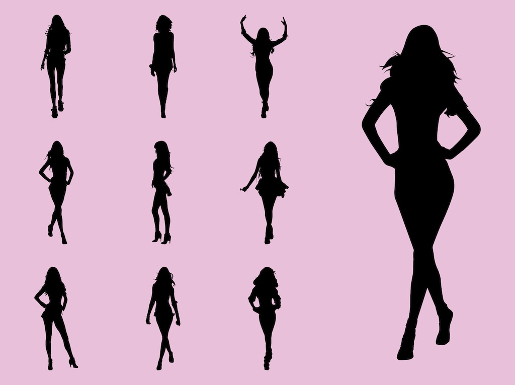 Model clipart Cliparts Model Runway Model Clipart