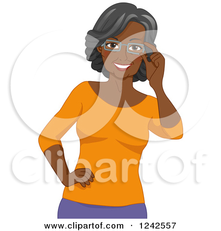 Model clipart african american woman #5
