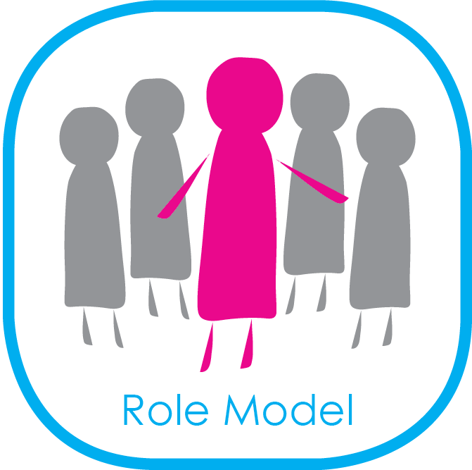 Model clipart at work #6