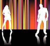 Disco clipart catwalk Free Clip Catwalk Stripes Royalty