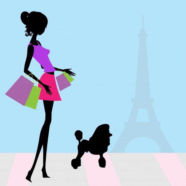 Model clipart fashion shopping Shopping Clip Free Clipart