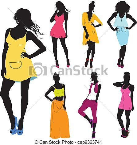 Beautiful Clip various model dress