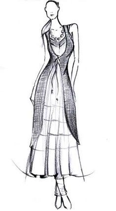 Model clipart indian dress #6