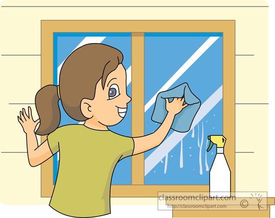 Window clipart washing windows Clipart  Decoration Window d