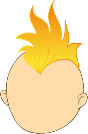 Mohawk clipart Orange Images and Mohawk Yopriceville