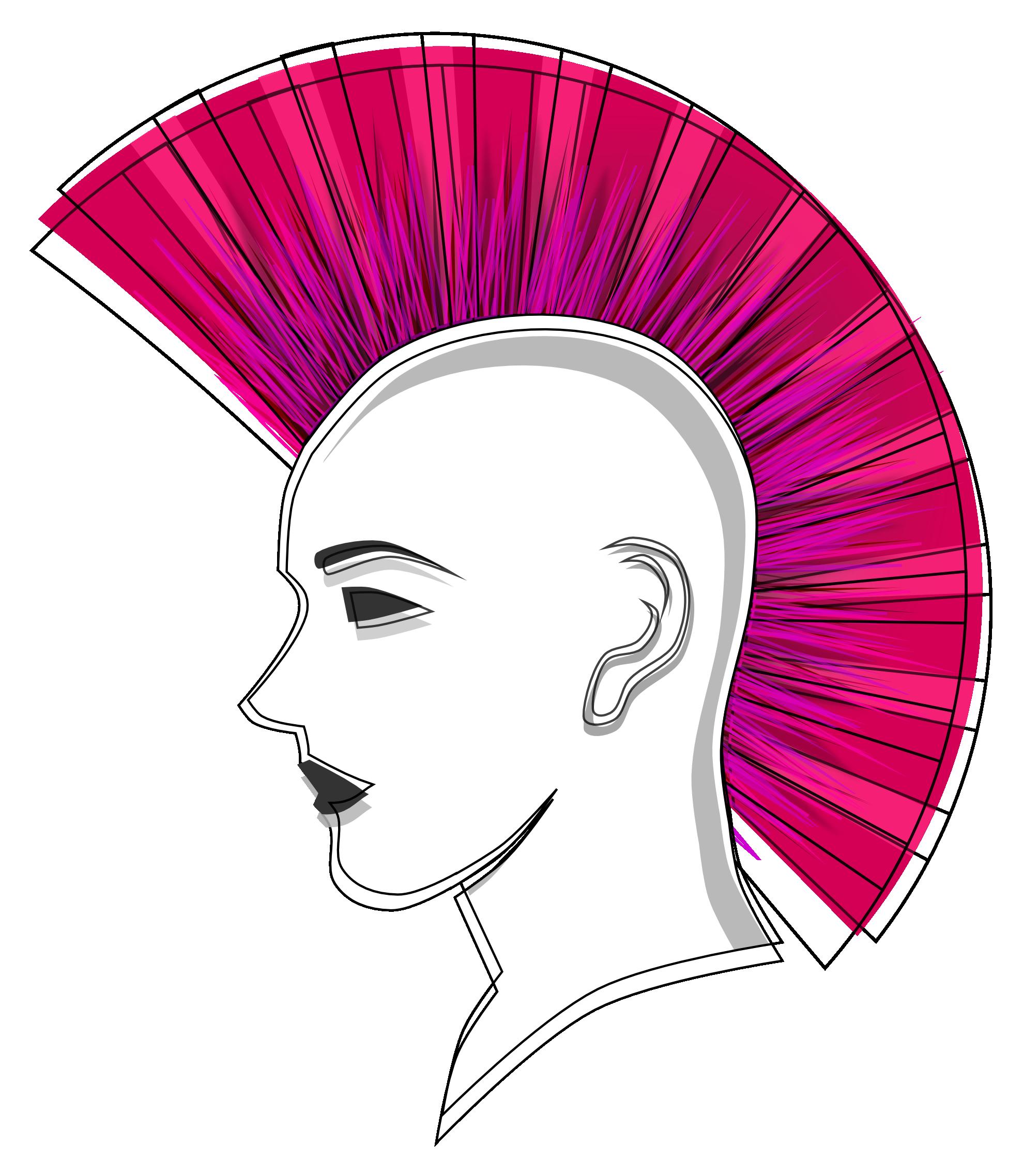 Mohawk clipart spiky hair Clipart Download Mohawk Clipart Mohawk