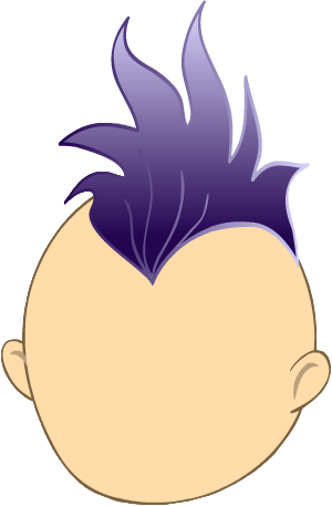 Mohawk clipart Dark High  Quality Dark