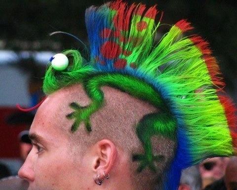 Mohawk clipart barber #11