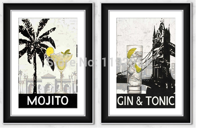 Mojito clipart Picture decoration canvas style posters