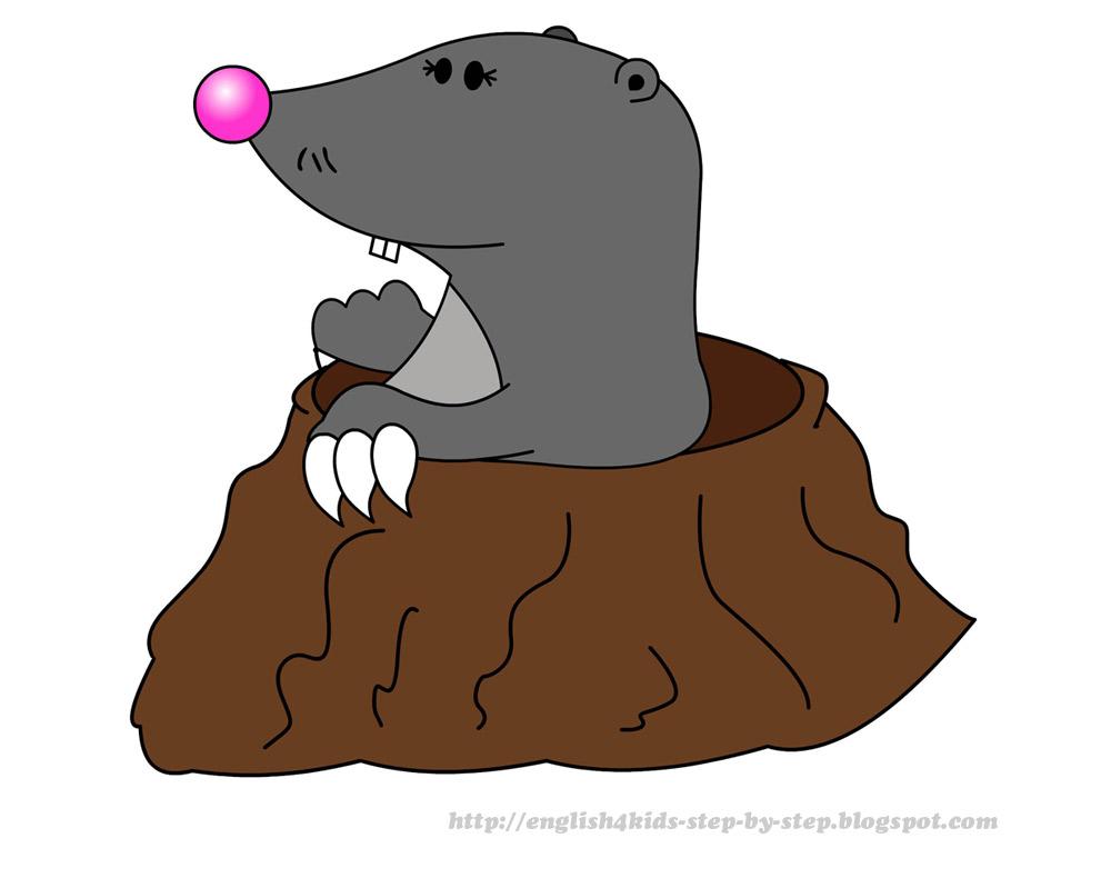 Mole clipart #9