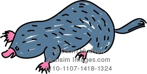 Mole clipart drawing Clipart Image Drawing Clipart Drawing