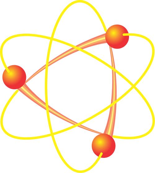 Structure clipart atoms and molecule Download Clip Molecule Atom Art