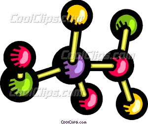 Molecule clipart atom Clip and Molecules and art