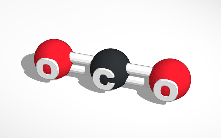 Molecule clipart simple Simple 3D Molecule 3D View