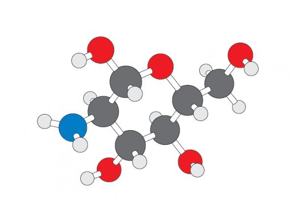 Molecule clipart table sugar Stick structure molecule v1 Glucosamine