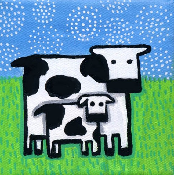 Mommy clipart baby cow Cow  Kid and and