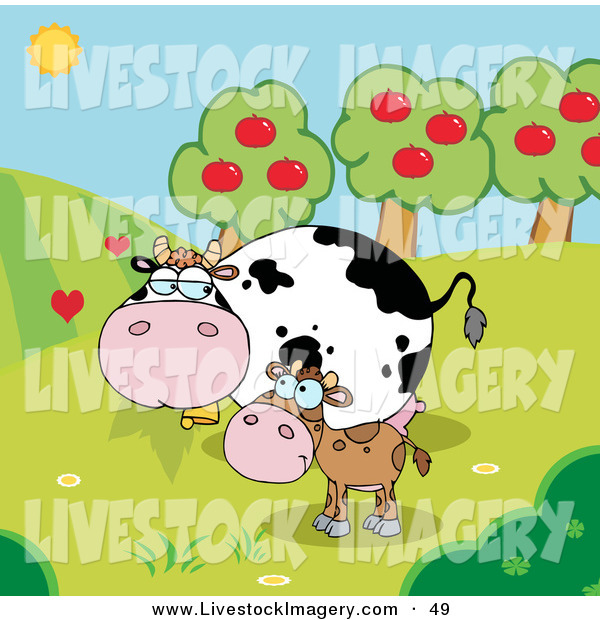Mommy clipart baby cow Of an Clip Baby Clip