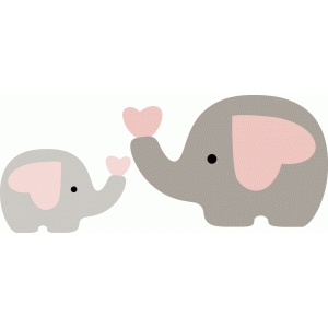 Mommy clipart baby elephant From with think I this