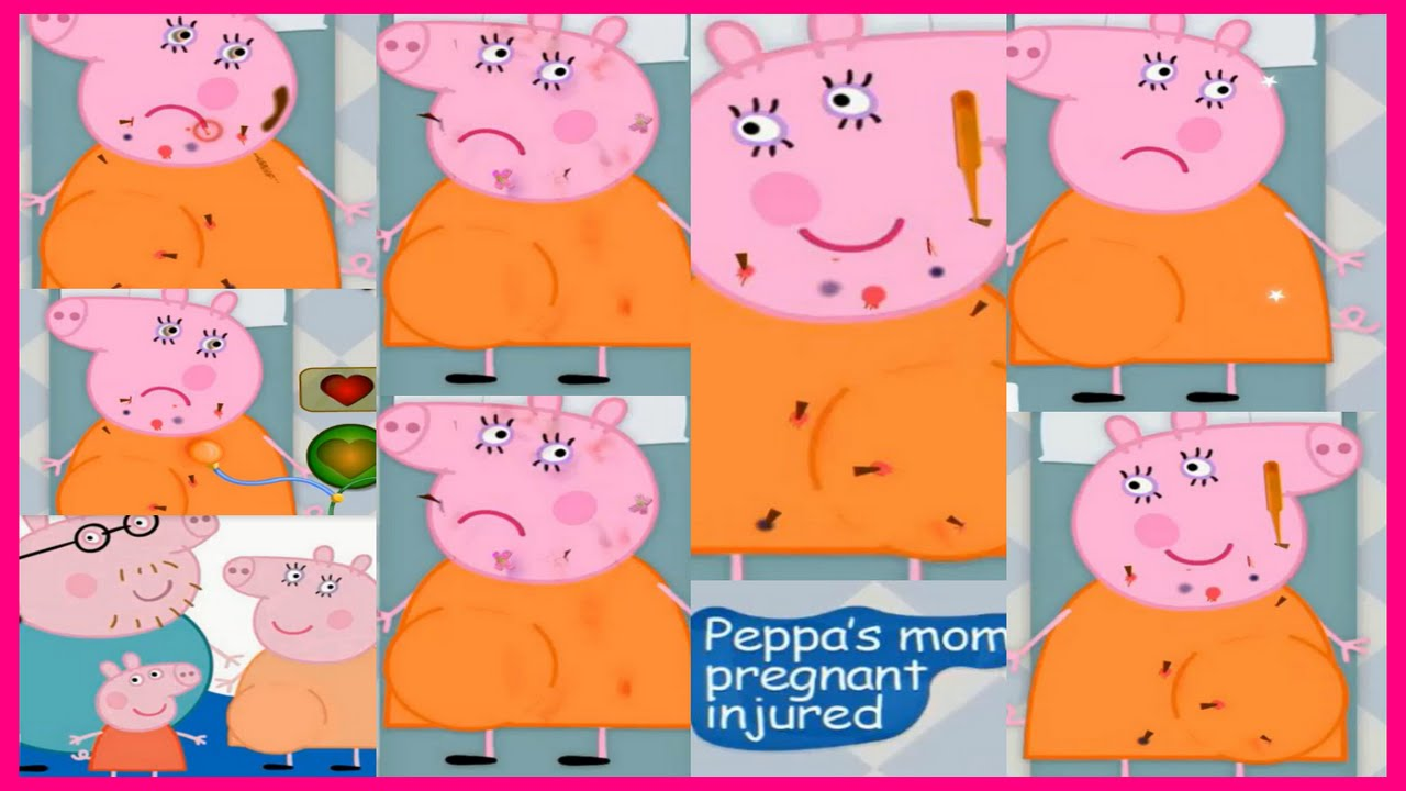 Mommy clipart baby pig Online Mom Kids Mom Injured