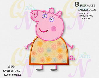 Mommy clipart baby pig Etsy applique Designs Machine design