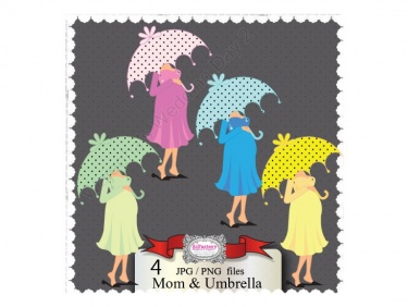 Mommy clipart baby shower #14