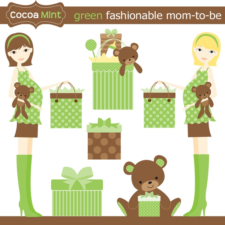Mommy clipart baby shower #5