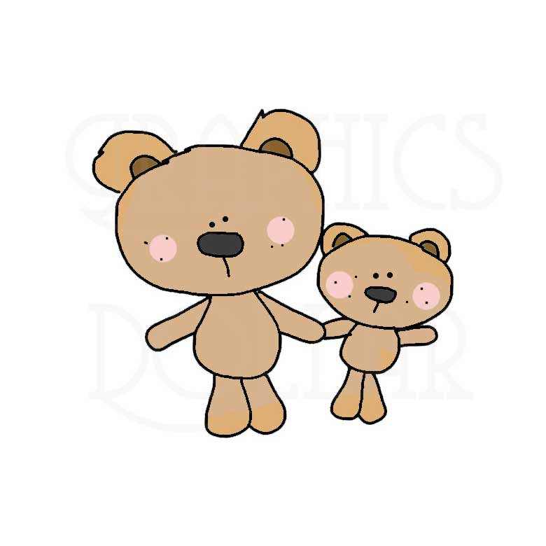 Mommy clipart bear And and Mommy Me Me