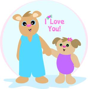 Mommy clipart bear Royalty Hands Bear Picture Mother