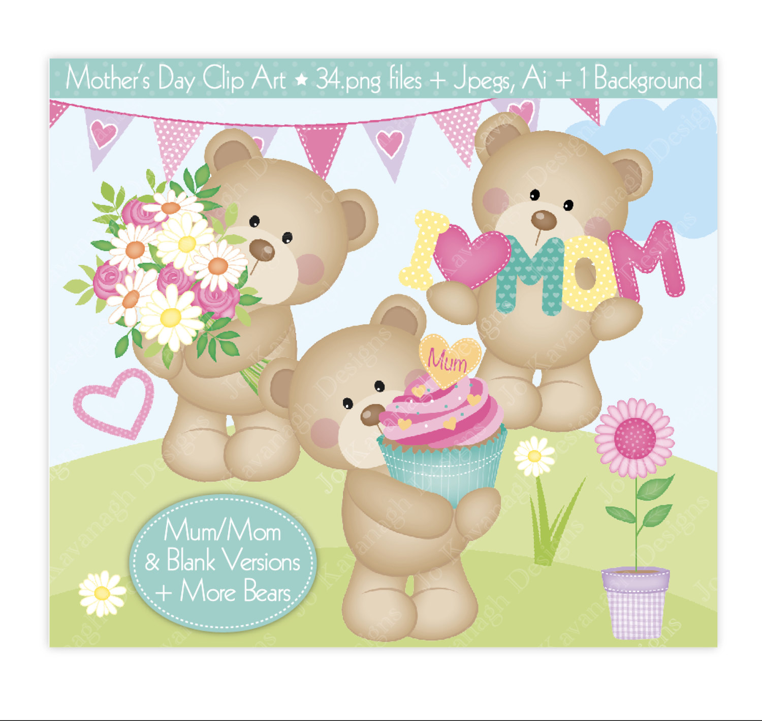 Mommy clipart bear Day Cute is Mothers a