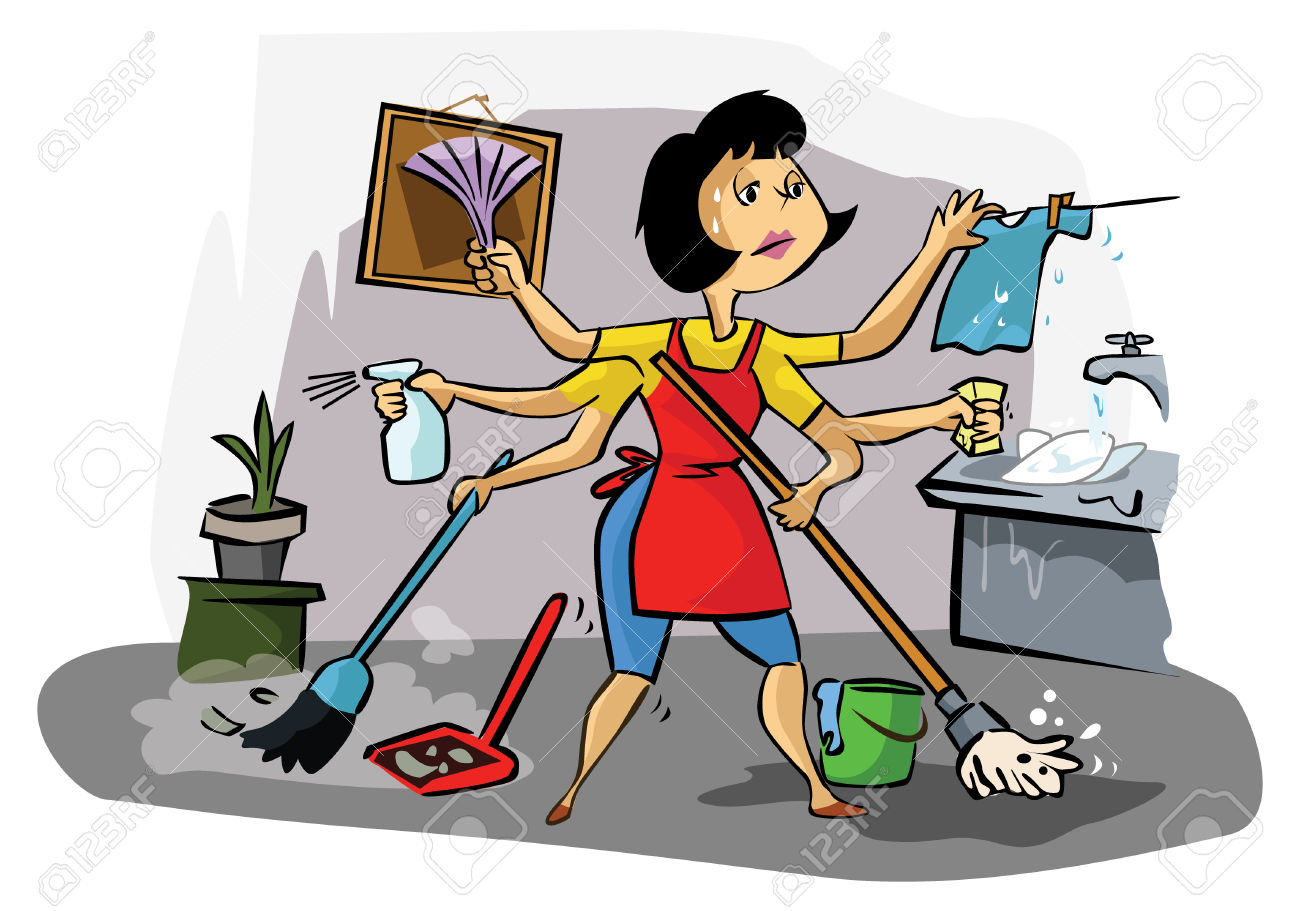Mommy clipart busy mom #9