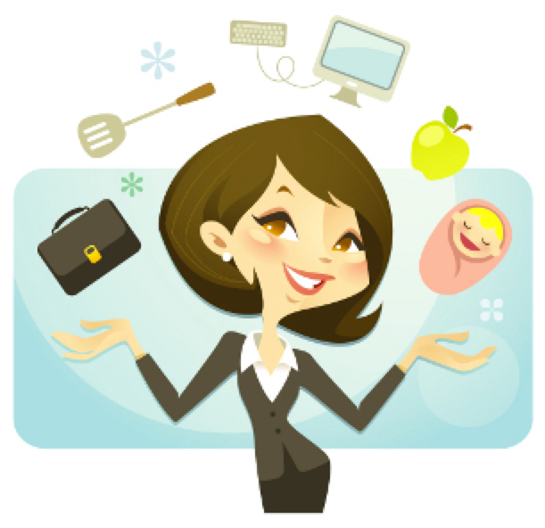 Mommy clipart busy mom #11
