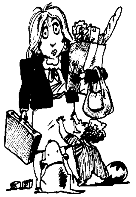 Mommy clipart busy mom #12