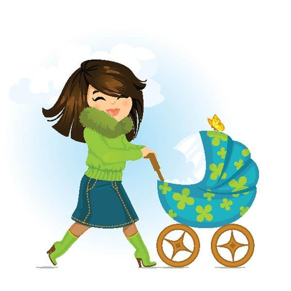 Mommy clipart cartoon #11