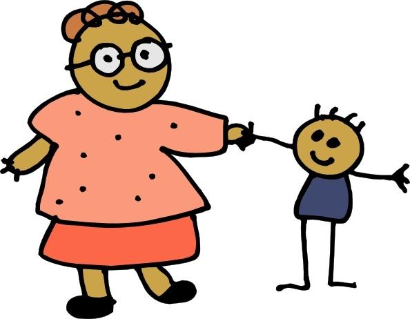 Mommy clipart cartoon #12