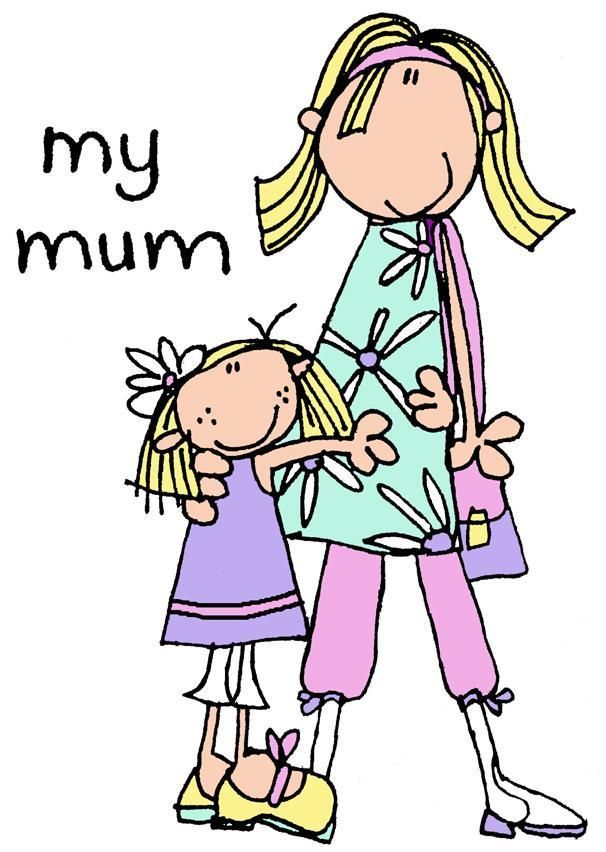 Mommy clipart childhood And on Find Familia ♥