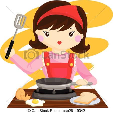 Mommy clipart cooking EPS Mom Mom Art Cooking