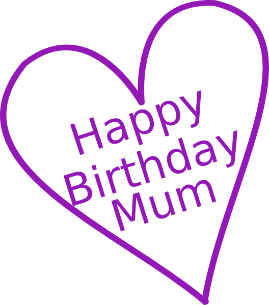 Mommy clipart happy birthday Clip Clip Clip domain Clker