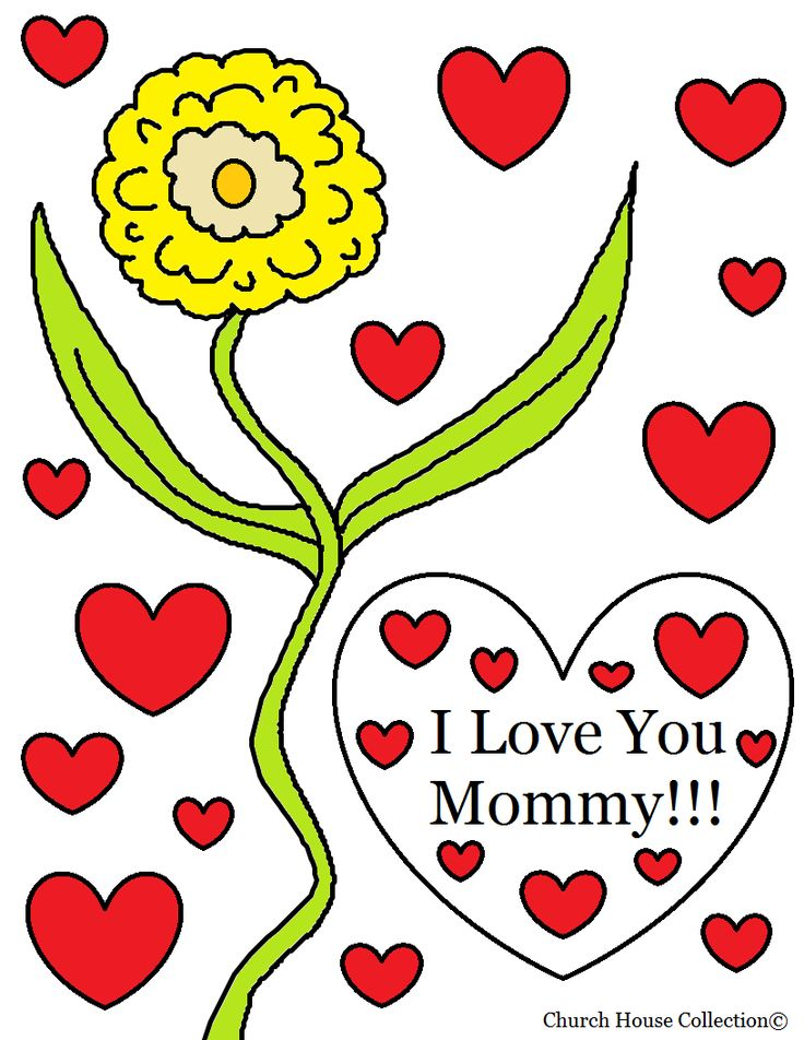 Mommy clipart i love you mom Day Pinterest I best House