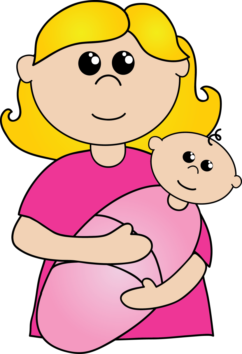 Mommy clipart mom newborn Images art Mother collection clipart