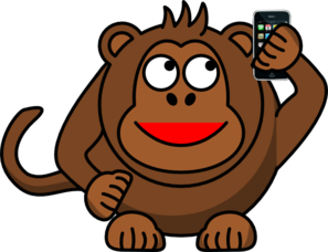 Mommy clipart monkey #9