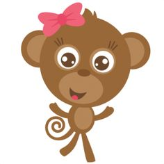 Mommy clipart monkey #11