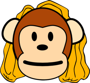 Mommy clipart monkey #7